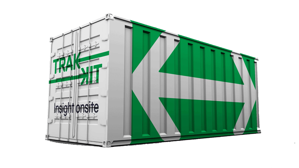 Trakkit Industrial Vending Machines - Shipping Container
