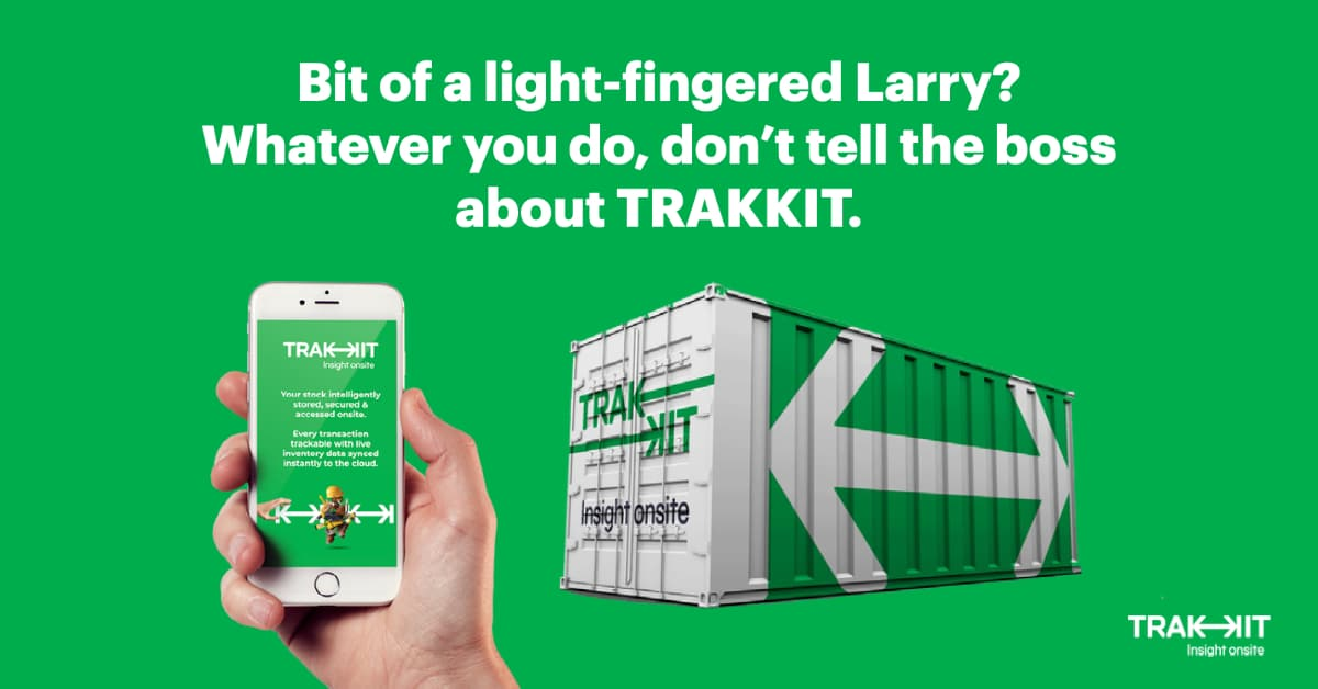 Inventory Theft Prevention with Trakkit