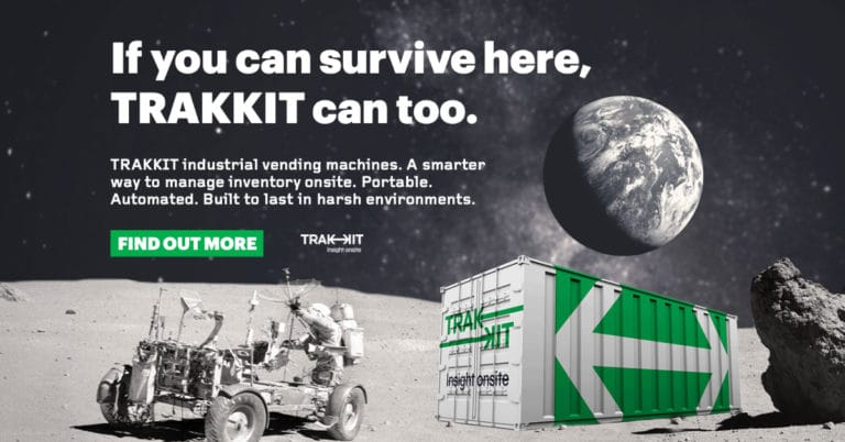 Portable Industrial Vending Machines - TRAKKIT
