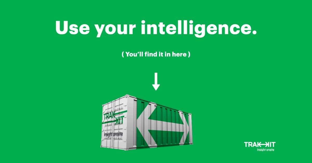 Use your intelligence - Data intelligence provided by TRAKKIT